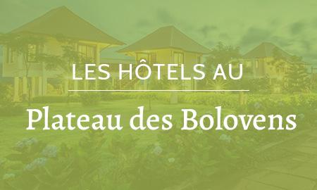Hôtels au Plateau des Bolovens