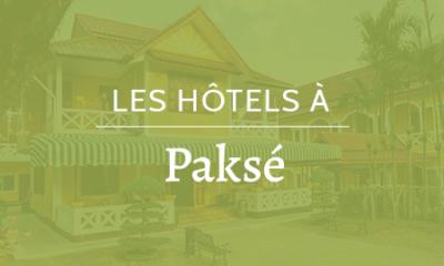 Hôtels à Paksé