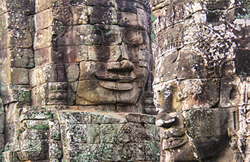 Temple Bayon à Angkor