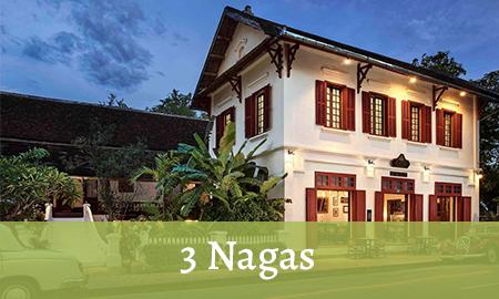 3 Nagas Hotel à Luang Prabang
