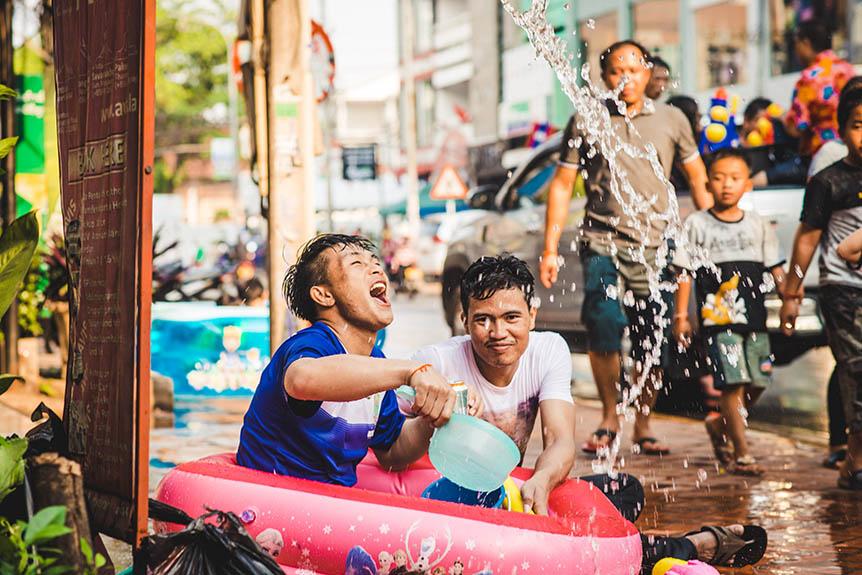 Pimai, le nouvel an au Laos