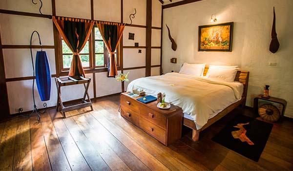 Muang La Lodge chambre