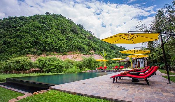 Muang La Lodge piscine