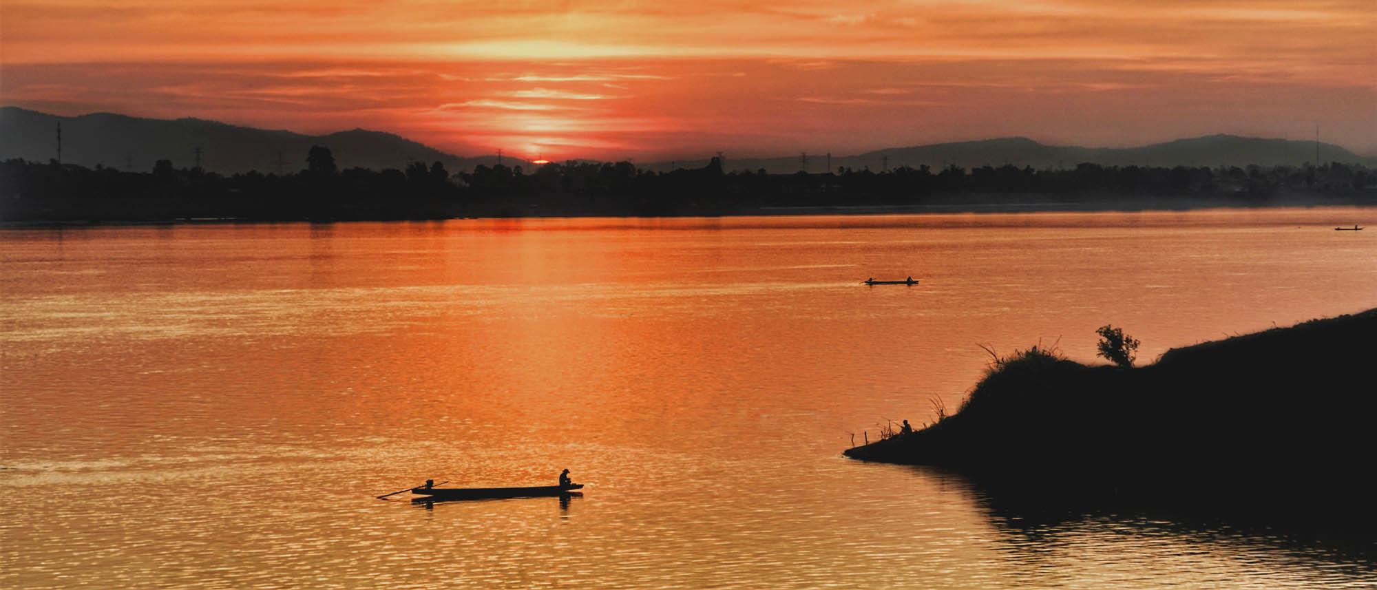 Croisière sur le Mékong lors de votre voyage au Laos