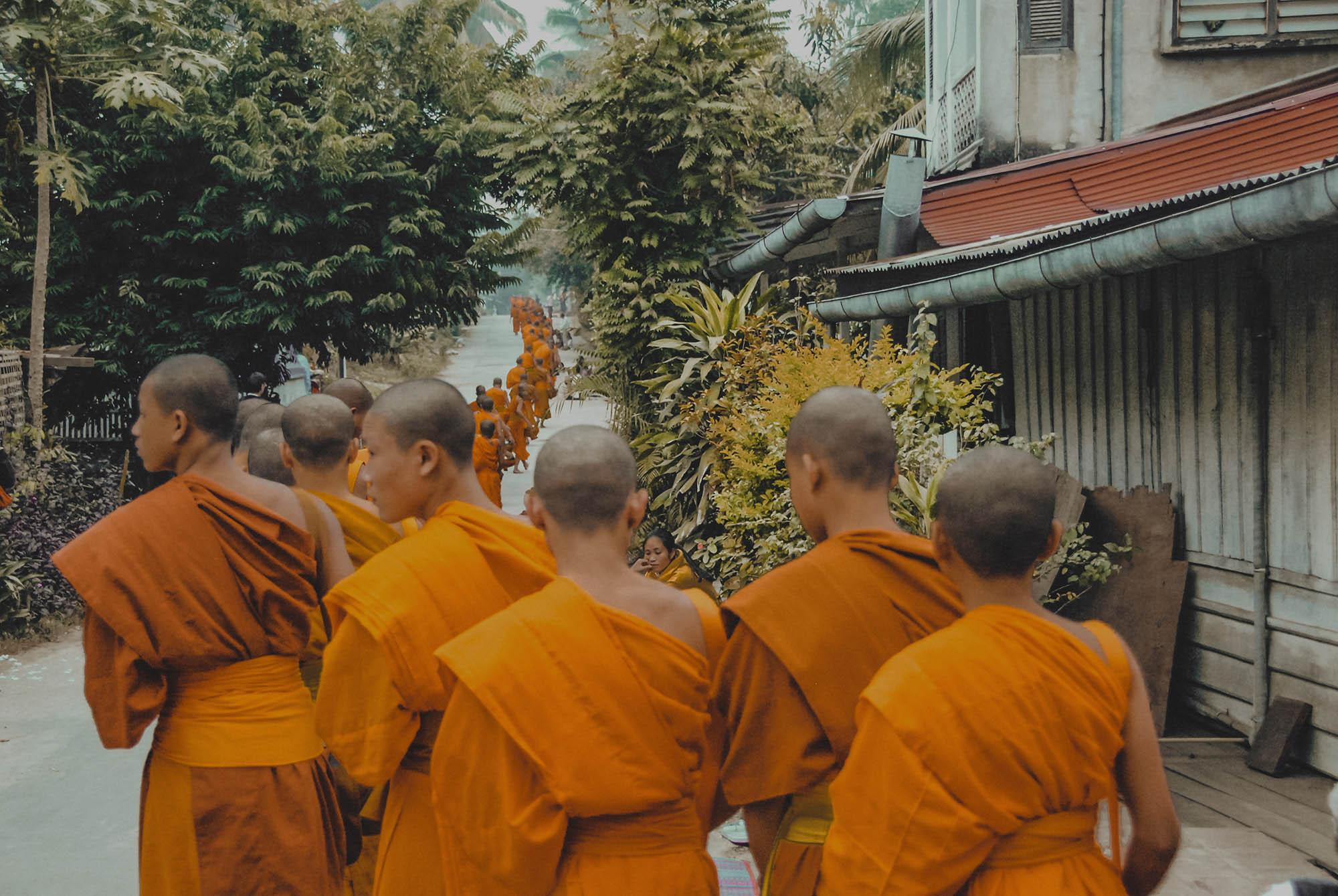 Voyage au Laos, à Luang Prabang
