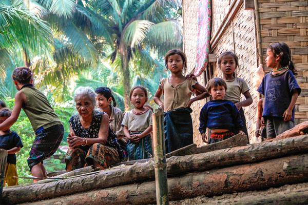 Famille lao