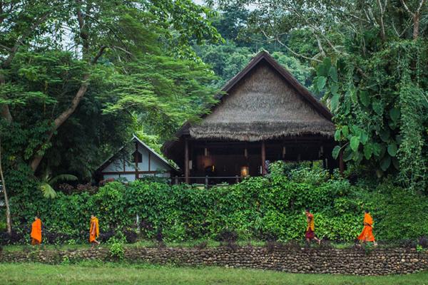 Maison au nord Laos