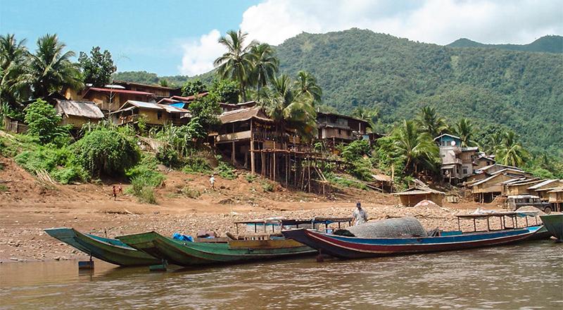 Le village de Pakbeng