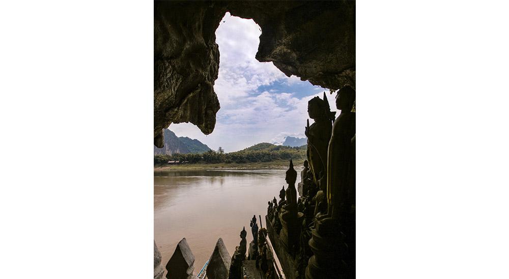 Les grottes de Pak Ou dans la région de Luang Prabang
